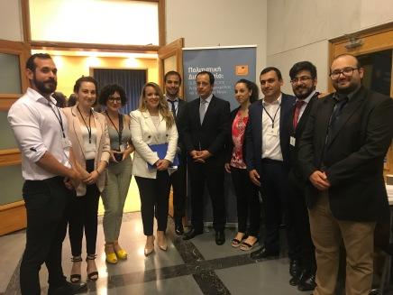 Υπουργός Εξωτερικών και Cyprus Youth DiplomaCY