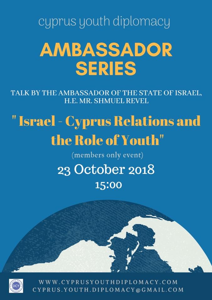ambassador series Israel-cyprus